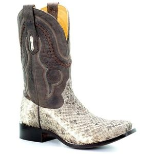 NEW Corral Style A3486 Rattlesnake Men's Boots